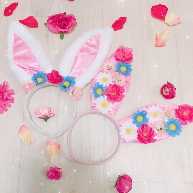 ■可愛いウサギのカチューシャ