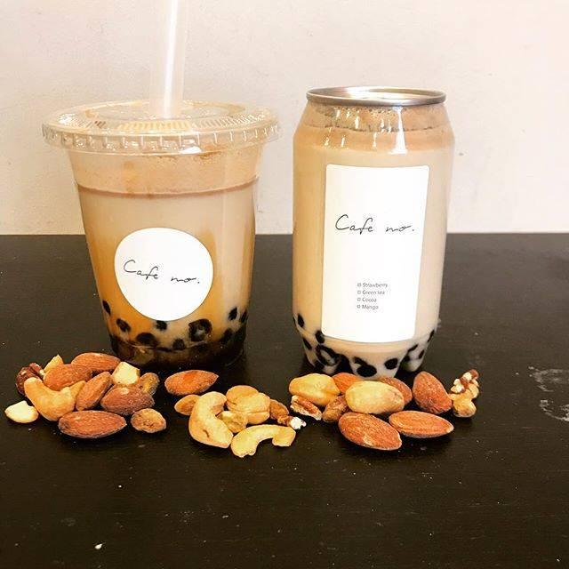 """@cafe_no_ on Instagram: """"◎ 【new product】 ・nuts milk tapioka きなこ風味のmilkに、 くるみやアーモンド等の ナッツが沢山入ってる中に台湾本場のもちもちの黒蜜生タピオカを入れました。 是非ご賞味ください^ ^  3/22から販売致します。  #cafeno…"""" (77820)"""