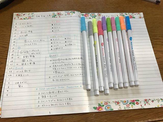 ■細芯水性ペン