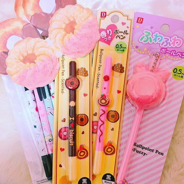 ■可愛いデザインのペン