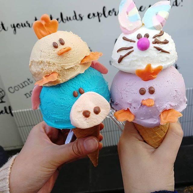 """どこいくグルメ on Instagram: """"可愛すぎるソフトクリーム!  こちらは原宿にあるEISWELT GELATOのソフトクリームです☆  他にも可愛いアイスや冬限定メニューもあります! 原宿に行った際はぜひ食べたいですね♪  photo by @t0mcha_28  #原宿 #竹下通り #表参道 #原宿グルメ…"""" (78091)"""