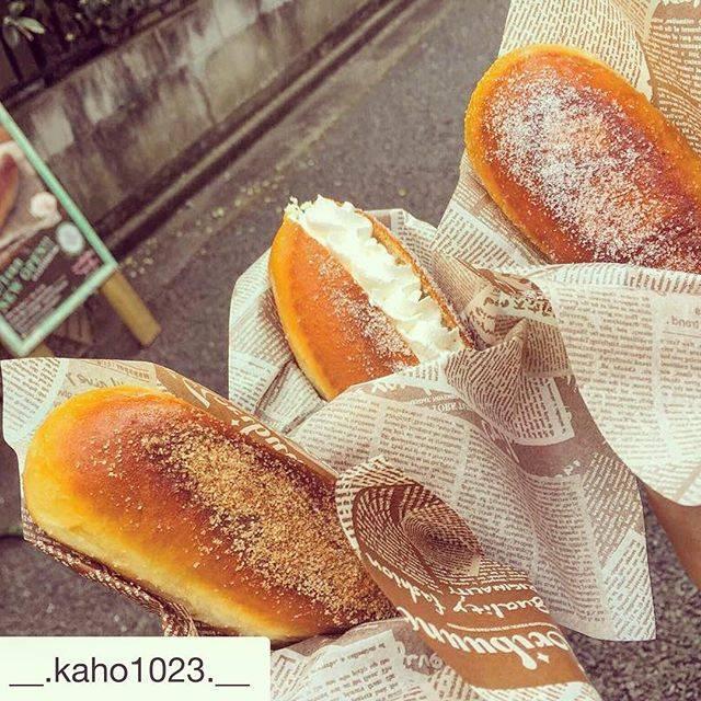 "COCO-agepan on Instagram: ""今日は春の嵐。強風でした~🌪 月火雨が基本的にお休みです。 変更の場合はTwitterにてお知らせします^O^)/#あげパン #タピオカ #表参道 #原宿 #キャットストリート #agepan #doughnuts #bobatea #pearlmilktea #coconut…"" (78487)"