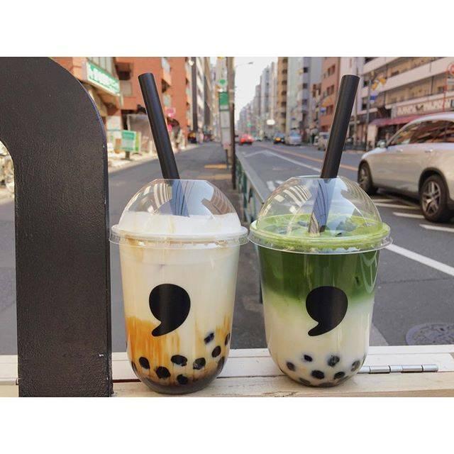 """Yumi Furuya on Instagram: """"**タピオカ💓ここのが1番好きかも🤤🤤****#東京#恵比寿#焦がし黒糖ラテ#宇治抹茶ラテ#東京カフェ#恵比寿カフェ #commatea #コンマティー #ティースタンド#カフェ#cafe#カフェ巡り #カフェスタグラム"""" (78492)"""