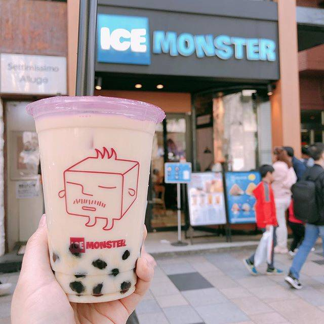 """タピオカマニア on Instagram: """"🚏ICE MONSTER 表参道 🍼凍頂烏龍ミルクティー . 💚ワンサイズのみ . かき氷専門店のタピオカってどうなの⁉️と思ったけど、さすが台湾から来たお店だけあって、烏龍茶が2種類も用意されてるし、お茶の味もミルクに負けずにしっかりと感じられました💯 .…"""" (79148)"""