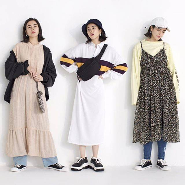 "WEGO on Instagram: ""✔︎one-piece ¥3,590+tax@hanna6587#wego#wegomagazine#springfashion#onepiece"" (80118)"