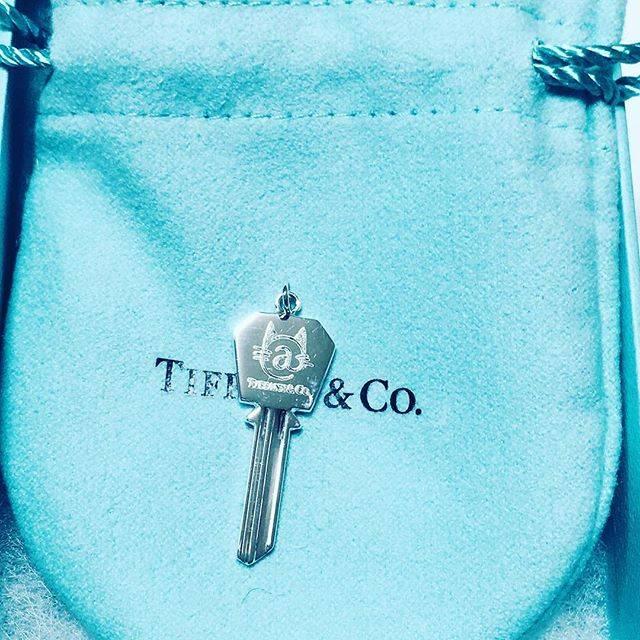 """🄲🄷!🄸🄸 on Instagram: """"#ティファニーキャットストリート #限定トートバック #ティファニーカフェ #ティファニーキャットストリート限定#ティファニーボックス #ティファニーキー  #ティファニーキーネックレス  #ティファニーキャットストリート  #Tiffanycatstreet#Tiffany…"""" (80410)"""