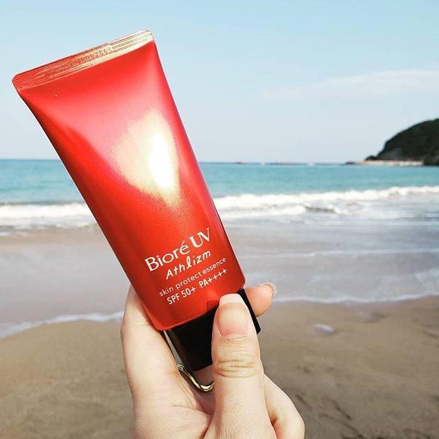 """Jastip Jepang Monunik on Instagram: """"BIORE UV ATHLIZM  #athlizm #bioreathlizm #jualbioreuvathlizm  Sunscreen favorit saya adalah Biore's - Aqua Rich Watery Essence SPF 50+ PA…"""" (80972)"""