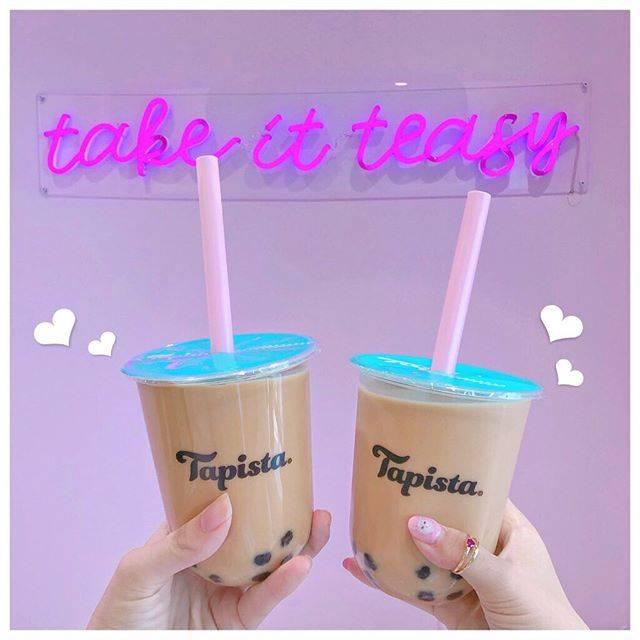 """mai on Instagram: """"🍹Tapista🍹 . 代官山にあるタピスタ(@tapista_jp)へいってきたよ💕 . 店内もパステルカラー基調ですごくかわいかったの〜🥺💕 フォトスポットもあるんだよ☺️🎀 タピオカ工場?の動画のスポットもあって見ているだけでも楽しめるよ🌈✨ .…"""" (82008)"""