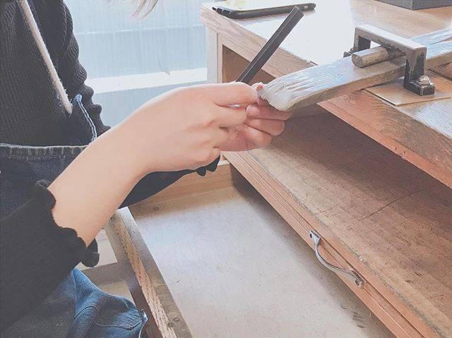 """あい on Instagram: """"✳︎ 曲げて、熱して、叩いて、磨いて #instagood#pairring#handmade#tokyo#harajuku#like4like#photography#workshop#enjoy…"""" (82302)"""