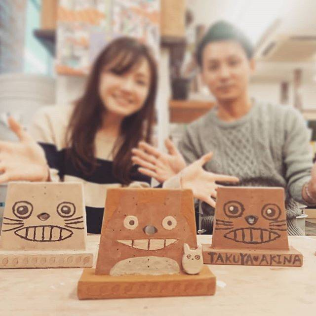 """ゆう工房 梅田・南堀江・枚方教室 on Instagram: """"三つの時計物語コース。これからそれぞれの場所で刻まれる時がより豊かに流れますように願いを込めて⭐ #ゆう工房 #大阪南堀江教室 #陶芸 #陶 #陶器 #うつわ #器 #pottery #ceramics #art #アート #handmade #ハンドメイド #手作り…"""" (82587)"""