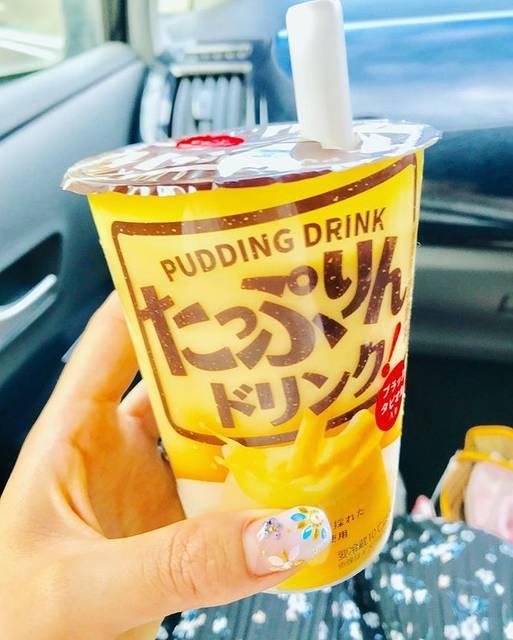 """Maimo on Instagram: """"タピオカにまたハマりだして ファミマで買った タピオカ入りプリンドリンク🍮🥤 プリンをのんでるみたいに濃厚で 美味しくて感動した!けど、、 最後の方はつらかった、 と思ったら次のスタバ プリンアラモード🍮!! 新作絶対飲みたい派だけど しばらくプリンはいいかな、…"""" (83046)"""