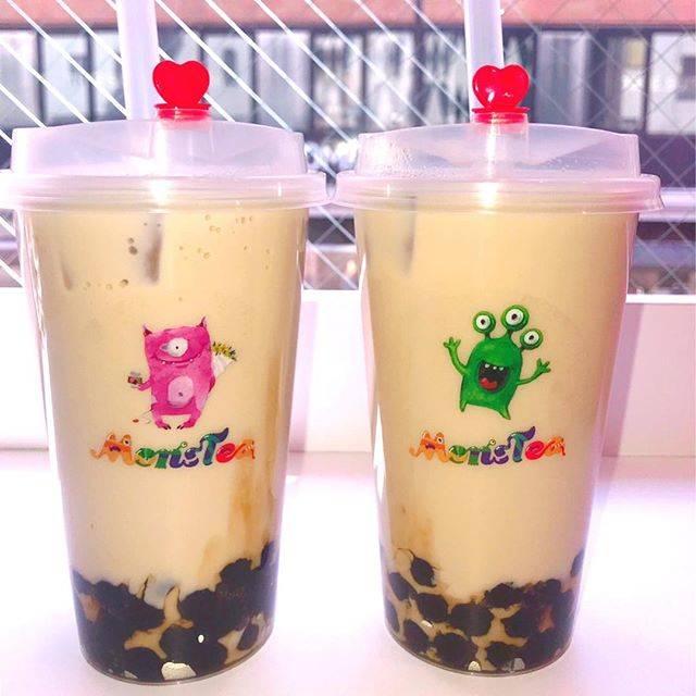 """ありぱん on Instagram: """"・やっと行けたよモンスティー👾おいしかった〜#monstea#セイロン紅茶タピオカミルクティー#台湾ウーロンタピオカミルクティー#たぴぱんこれくしょん"""" (84042)"""