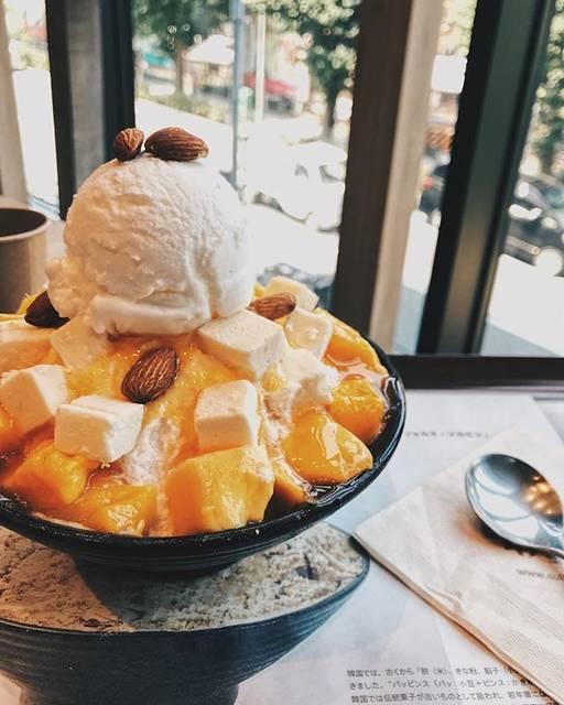 """あやなんず on Instagram: """"マンゴーってついたらもうおいしい。#instagood #原宿 #ソルビン #lfl"""" (85685)"""