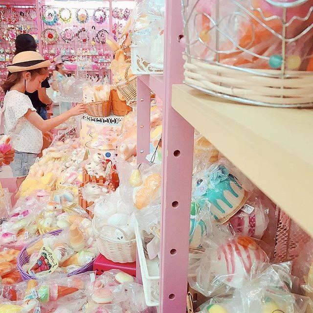 """ゆうき on Instagram: """"スクイーズを買いに来ましたキラキラピンクの世界#harajuku"""" (86403)"""