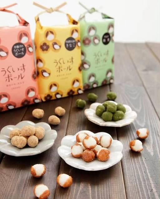 """Kousaku on Instagram: """"食べます!食べ尽くします!F4の結晶✨http://www.uegaki-beika.co.jp/RIP#鶯ボール #うぐいすボール #植垣米菓"""" (88136)"""