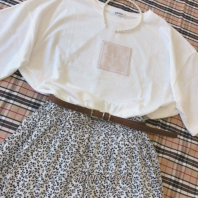 "スピンズ Official Instagram on Instagram: ""💗SPINNS CODE💗  ☎️TOPS price: ¥1,998+tax  ☎️LONG SKIRT price: ¥2,599+tax  ☎️BELT price: ¥999+tax  ☎️HAIR BAND price: ¥700+tax …"" (89645)"