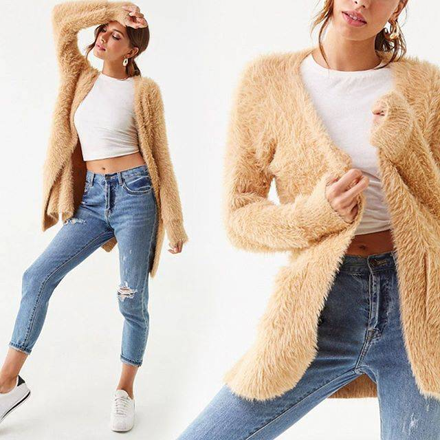 """@forever21 on Instagram: """"cozy up in our new season sweaters 🍂-- Search: 00371128 (tap to shop)"""" (90040)"""