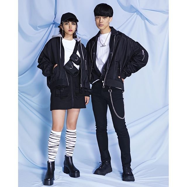 "WEGO on Instagram: ""men's>> ✔︎heavy nylon MA-1 ¥4,999+tax ✔︎color stitch big shirt ¥2,999+tax ✔︎ print big long sleeve t-shirt ¥2,999+tax ✔︎stretch skinny…"" (90981)"