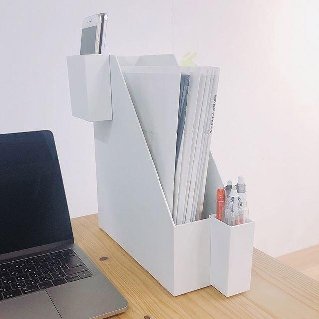 """MUJI無印良品 on Instagram: """"【私が使っている無印良品】オフィスで便利なファイルボックス - ファイルボックスを使用している社員の声を紹介します。 - 「…"""" (92322)"""