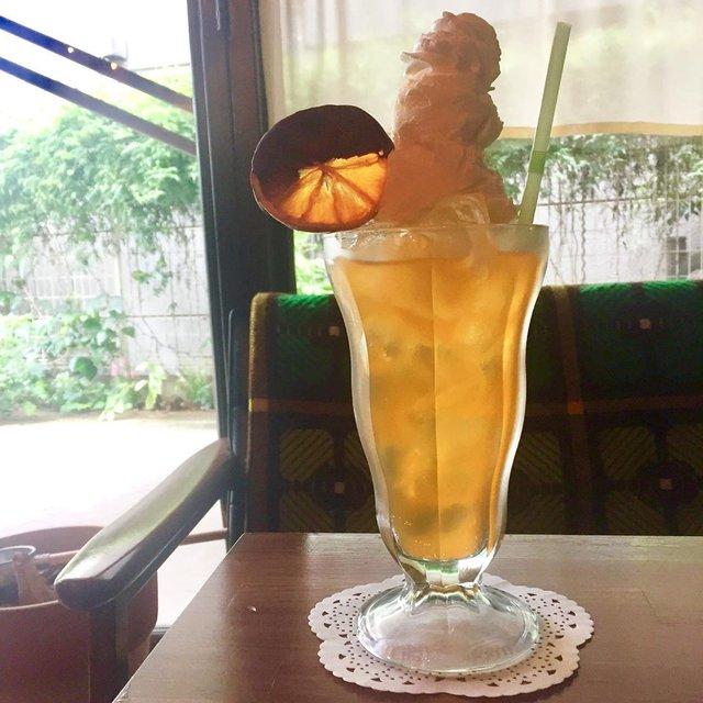 """喫茶ネグラ on Instagram: """"🌳10月1日火曜、喫茶営業はお休みです🌳明日からまたよろしくお願いいたします。画像はオレンジクリームソーダ🍊…"""" (97023)"""