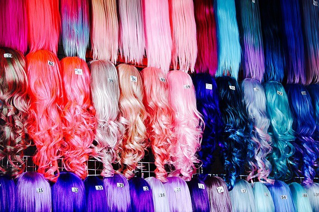 Free photo: Wigs, Colorful, Dress, Costume - Free Image on Pixabay - 1143662 (4498)