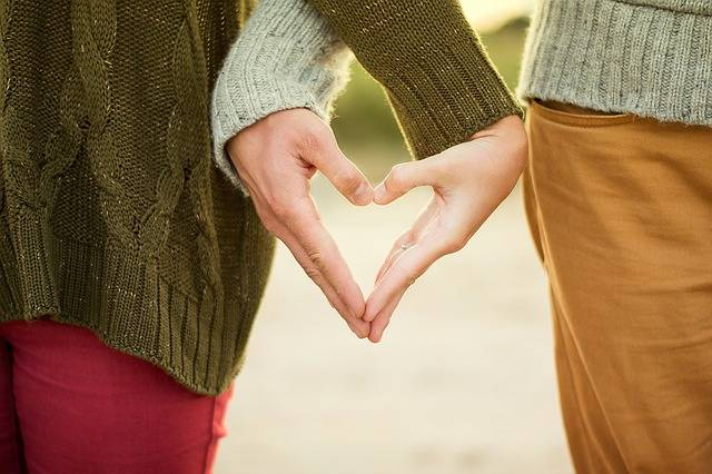 Hands Heart Couple - Free photo on Pixabay (77115)
