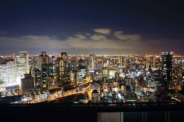 Japan Osaka Night View - Free photo on Pixabay (80436)