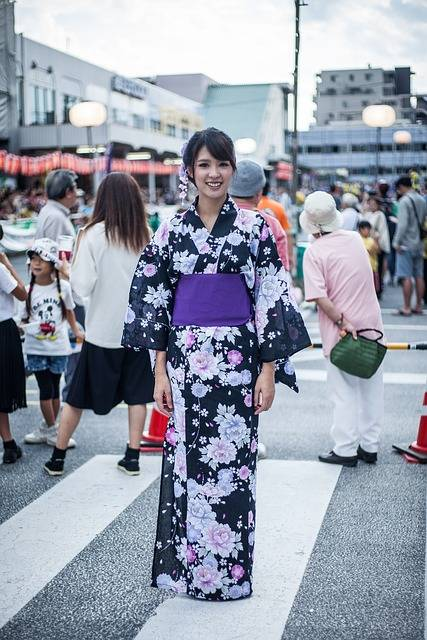 Yukata Lady Country Japan - Free photo on Pixabay (84434)