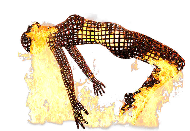 Burnout Powerless Sculpture - Free image on Pixabay (85820)