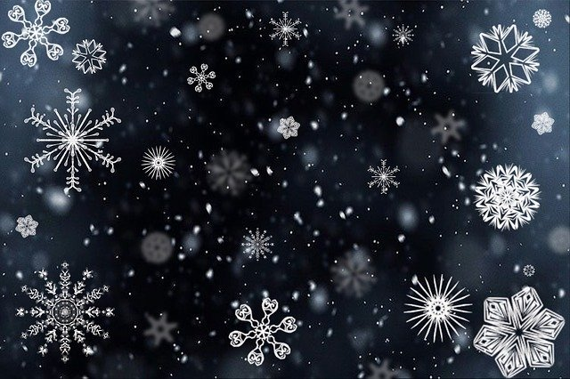 Snowflake Snow Snowing - Free image on Pixabay (93636)