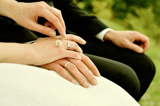 Hands Bride And Groom Rings - Free photo on Pixabay (94042)