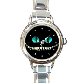 不思議の国のアリス,チシャ猫,腕時計,ウォッチ,シルバ...