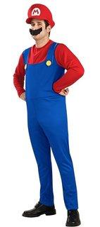 スーパーマリオブラザーズのマリオのコスチューム衣装。 ...