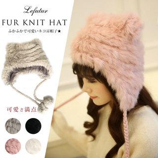 ふかふかで可愛いネコ耳帽子★。猫耳 帽子  リアル...