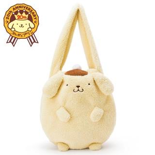ポムポムプリン20th キャラクター形ボアトートバッグ(あったか) (2387)