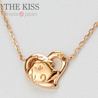 ポムポムプリン×THE KISS ピンクゴールドコーティングネックレス (2392)