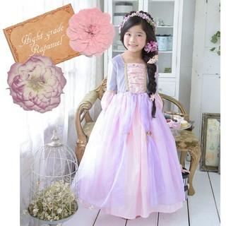 童話の世界から抜け出したような上品デザインの子供用お姫...