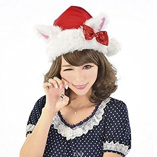 Amazon | ねこ耳サンタ帽子 | コスプレ・仮装 通販 (4340)