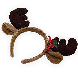 Amazon | トナカイのプリティーカチューシャ | クリスマス用品 通販 (4341)
