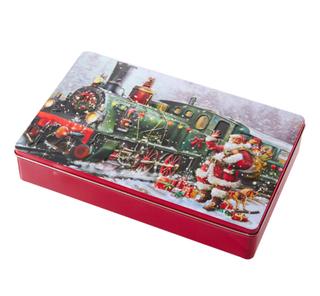 GRANDMA WILDS クリスマス サンタトレイン 缶 (4510)
