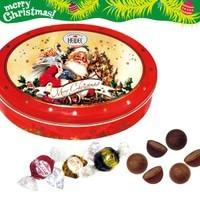 クリスマス ノスタルジック オーバルエンボス缶 215g (4520)