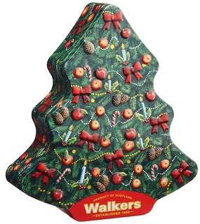 ウォーカー クリスマスツリー缶 225g (4525)