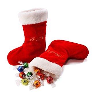 リンツ Lindt チョコレート クリスマス サンタブーツ 6種アソート28個入り (4530)