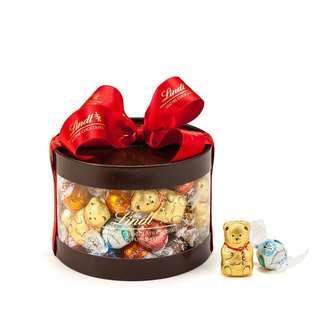 リンツ Lindt チョコレート クリスマス リンドールギフトボックス 50個入り/11種 詰め合わせ (4531)