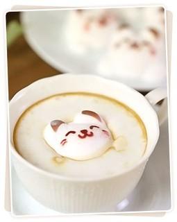 コーヒー、紅茶にポンと入れるだけ!マイ3Dラテが簡単作...