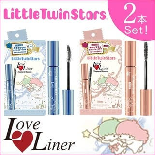 【2本セット】ラブライナー マスカラ LoveLiner × Little Twin Stars キキララ トリートメント ロング ボリューム (4858)