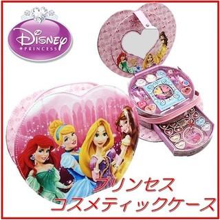 ハートの形のキュートなコスメバッグ♪【Disney】デ...