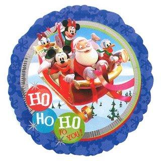 ミッキーマウスのクリスマスサークル型バルーン。セール ...