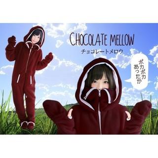 ニュータイプ着る毛布 冬のダメ着  ブラウン M(〜165cm) (7906)