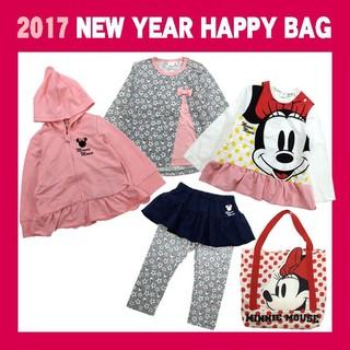 <Disney-ディズニー ミニー>女児福袋(90cm)